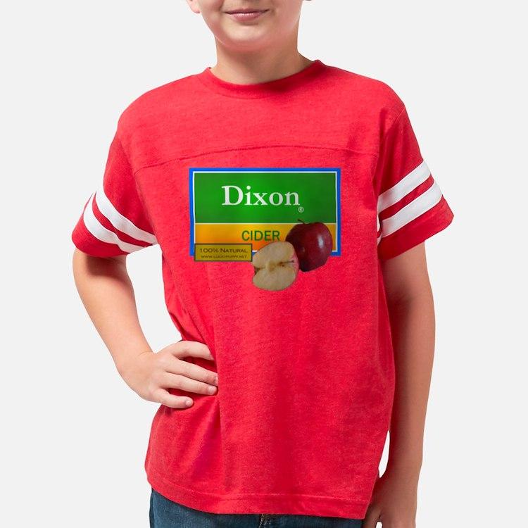 dixon cider2 Youth Football Shirt