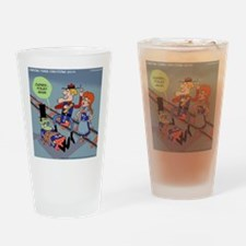 Curses Foiled Again Drinking Glass