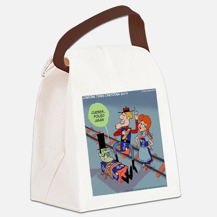 Curses Foiled Again Canvas Lunch Bag