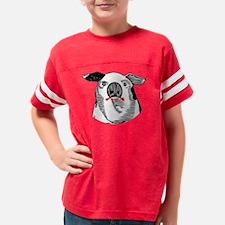 Lipstick on a Pig Youth Football Shirt