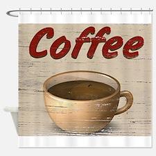 Coffee 2 Shower Curtain