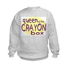 Queen of the Crayon Box Sweatshirt