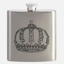 """""""Royal Tiara"""" Flask"""