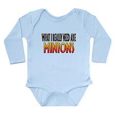 I Need Minions Onesie Romper Suit