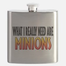 I Need Minions Flask