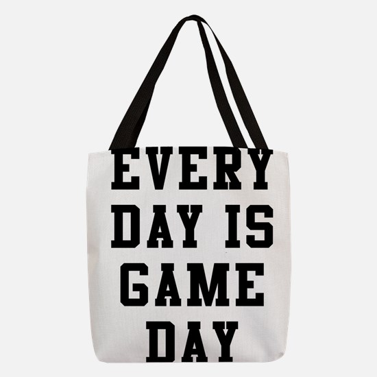 Every Day Is Game Day Polyester Tote Bag