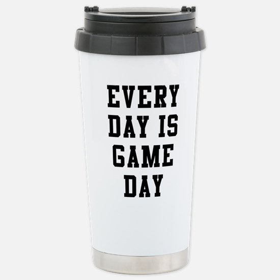 Every Day Is Game Travel Mug