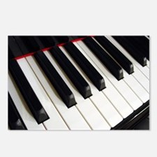 Piano Keys Postcards (Package of 8)
