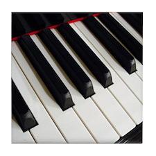 Piano Keys Tile Coaster