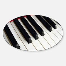 Piano Keys Decal