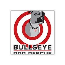 BullsEye Square Sticker 3