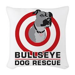 BullsEye Woven Throw Pillow