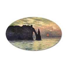 Cliff, Etretat, Sunset by Cl Wall Decal