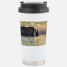 Cliff, Etretat, Sunset by Claud Travel Mug