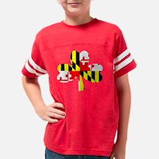 ntmdirish2 Youth Football Shirt