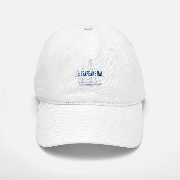 Chesapeake Bay - Baseball Baseball Cap