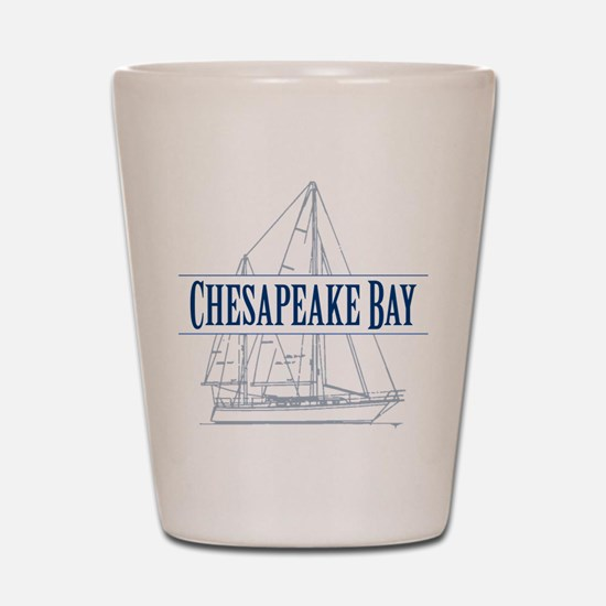Chesapeake Bay - Shot Glass