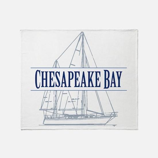 Chesapeake Bay - Throw Blanket