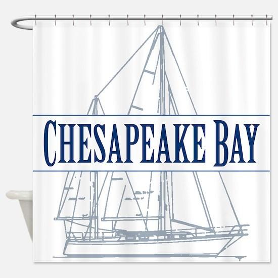 Chesapeake Bay - Shower Curtain