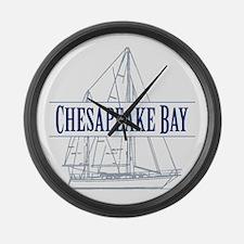 Chesapeake Bay - Large Wall Clock