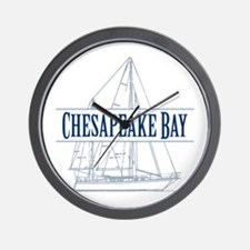 Chesapeake Bay - Wall Clock