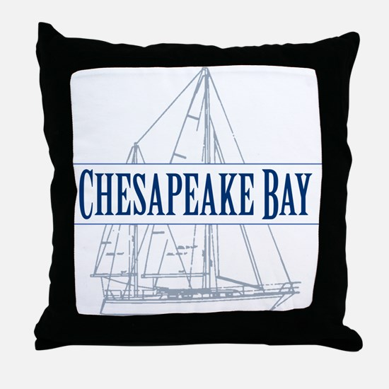 Chesapeake Bay - Throw Pillow