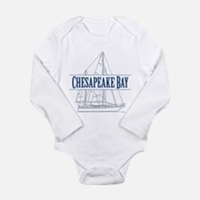 Chesapeake Bay - Long Sleeve Infant Bodysuit