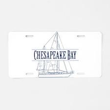 Chesapeake Bay - Aluminum License Plate