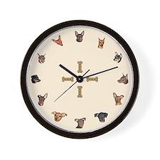 Miniature Pinscher Wall Clock
