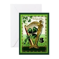 The Harp of Erin St. Patrick's Day Cards (10)