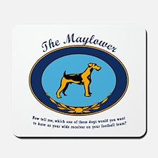 The Mayflower Dog Show Mousepad