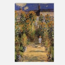 Artist's Garden at Vetheu Postcards (Package of 8)