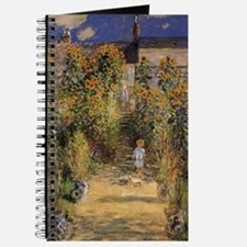 Artist's Garden at Vetheuil by Claude Mone Journal
