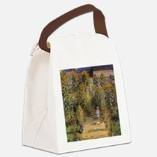 Artist's Garden at Vetheuil by Cl Canvas Lunch Bag