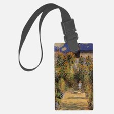 Artist's Garden at Vetheuil by C Luggage Tag