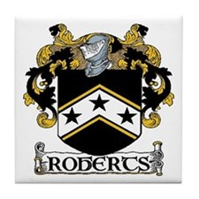 Roberts Coat of Arms Tile Coaster