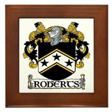 Roberts Coat of Arms Framed Tile