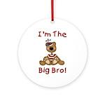 I'm The Big Bro Ornament (Round)