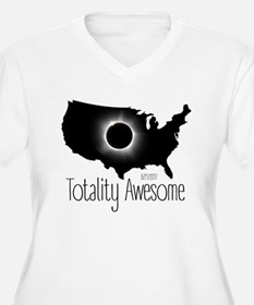 Totality Awesome Plus Size T-Shirt