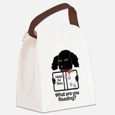 Sunny Puppy Canvas Lunch Bag