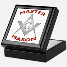 Unique Master mason Keepsake Box