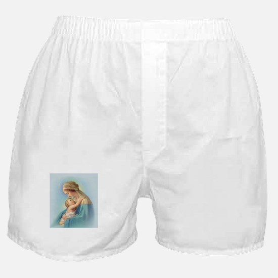 Mary and Jesus Boxer Shorts