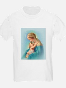 Mary and Jesus Kids T-Shirt