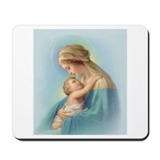 Mary and Jesus Mousepad