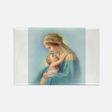 Mary and Jesus Rectangle Magnet