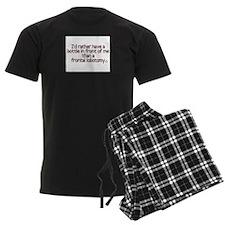 Frontal Labotomy Pajamas