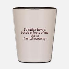 Frontal Labotomy Shot Glass