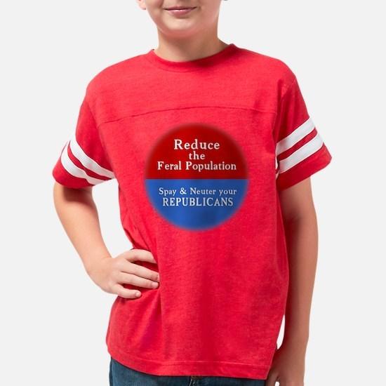 spay-t Youth Football Shirt