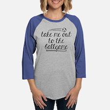 Take Me Out To The Ballgame Womens Baseball Tee