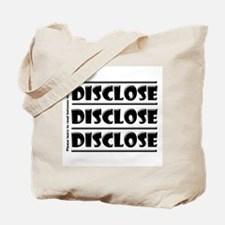 Compliance Disclosure Tote Bag